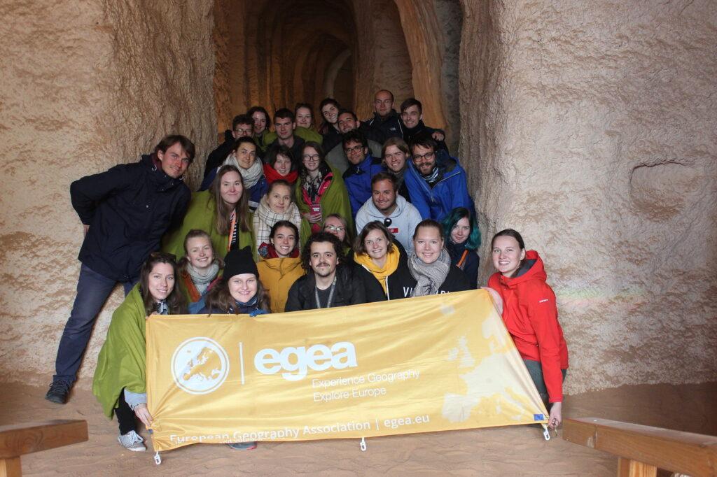 EGEA in a cave